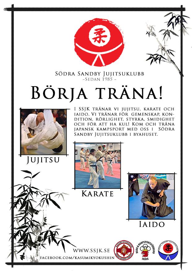 Södra Sandby Jujitsuklubb hösten 2020