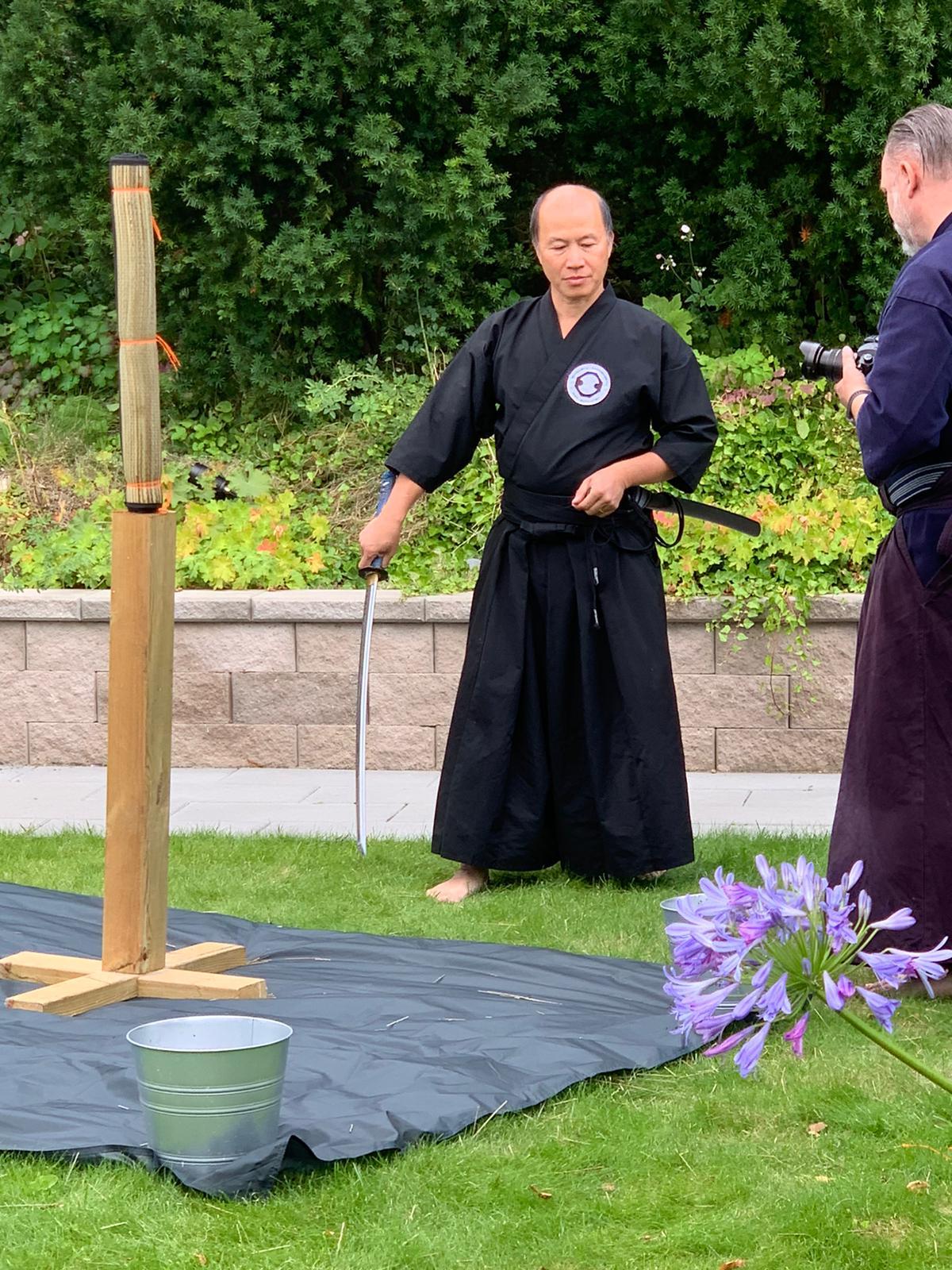 David instruerar Minh